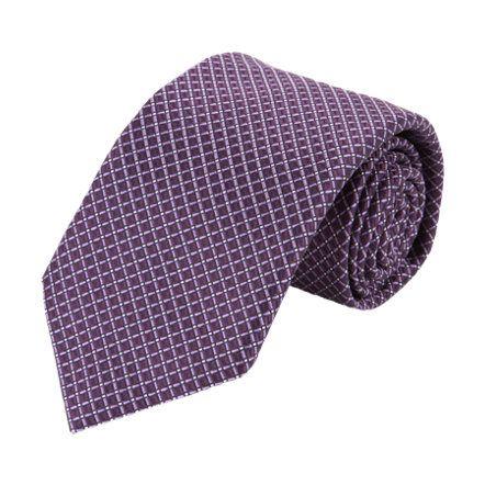 Necktie - Light pink tonal chevron pattern Notch 2KOutkV