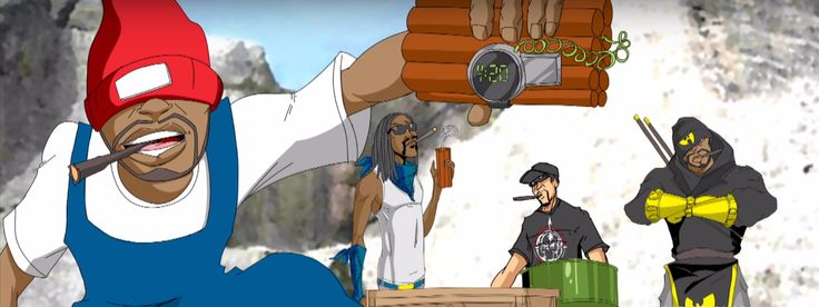 Snoop Dogg enlists Method Man, Redman & B-Real for the animated music video 'Mount Kushmore' - http://www.trillmatic.com/snoop-dogg-redman-b-real-method-man-mount-kushmore-video/ - Snoop Dogg enlists Redman, Method Man and B-Real of Cypress Hill for the n