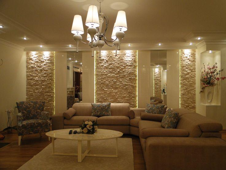 #LuxuryLiving Salon dekorasyon 2 Bodrum Daire Dekorasyonu