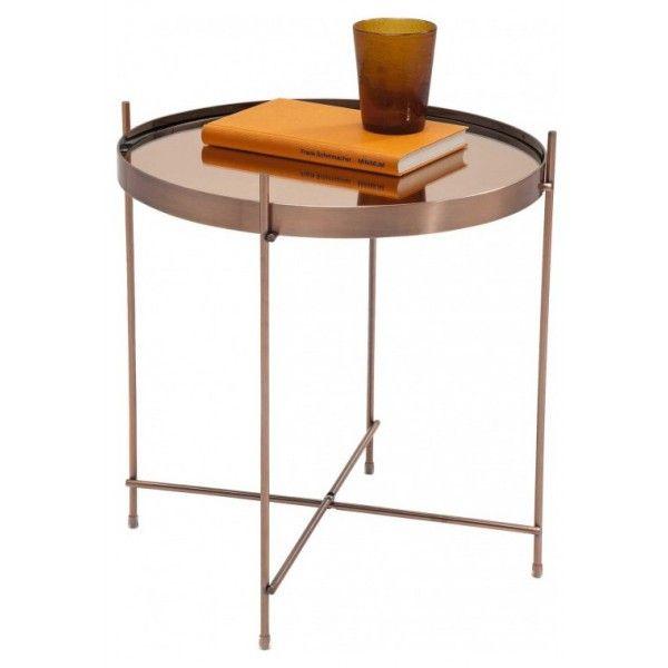 .mesa auxiliar blowfeld copper | Tiendas On