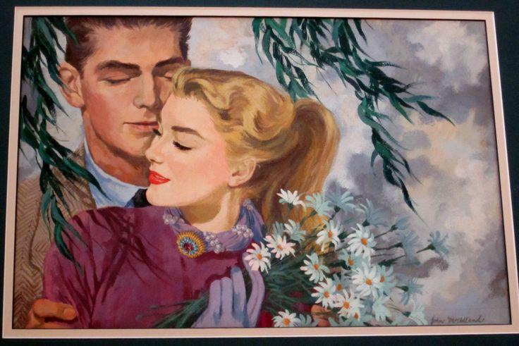 Подставил Оригинал 1950 Иллюстрация Гуашь по OffTheWallArtTrader