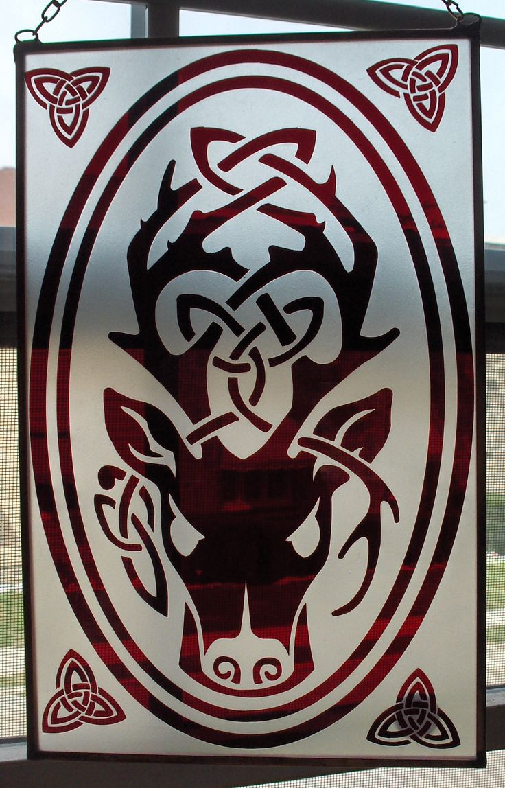 Owl greeting card set welsh artist jen delyth celtic art studio - Celtic Stag By Christi