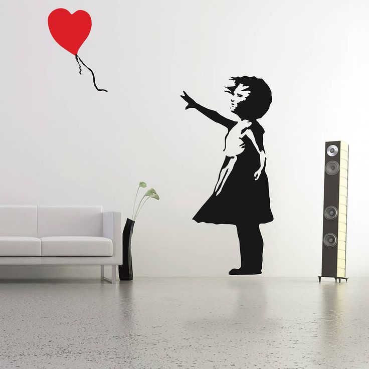 Are you interested in our Banksy Balloon Girl Wall Sticker? With our Banksy Wall Stickers you need look no further.