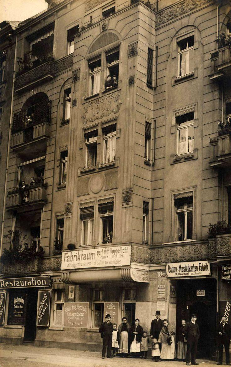 Berlin Wedding um 1900 #Berlin