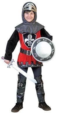 Valiant Knight Kids Costume - Medieval Costumes