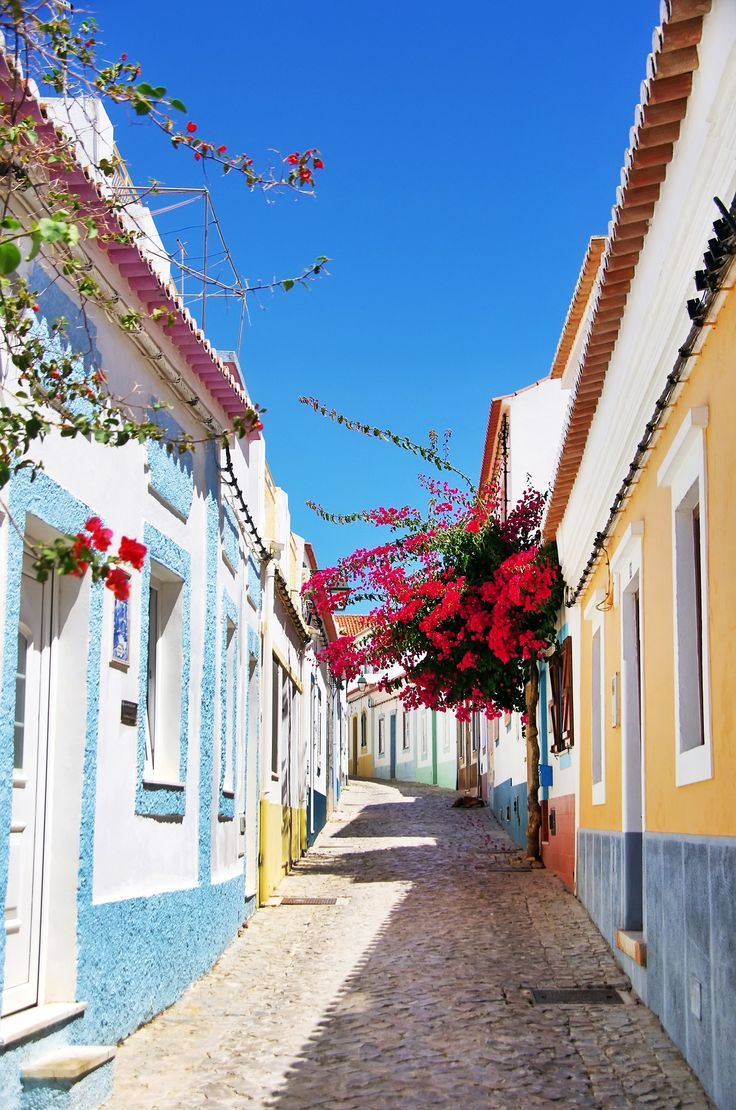 Algarve is much more than beaches - enjoy the Portuguese charm wandering the streets...