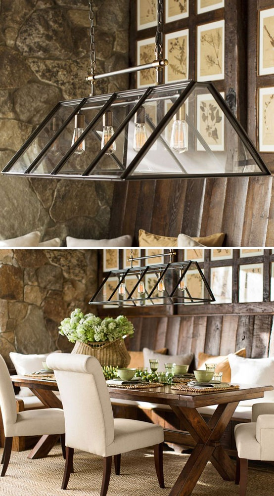 Greenhouse Indoor Outdoor Chandelier Shop Lighting