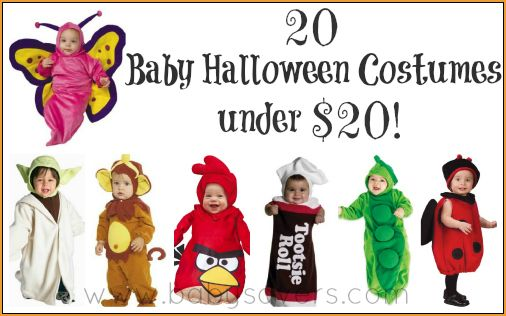 20 super-cute baby Halloween costumes under 20 dollars!