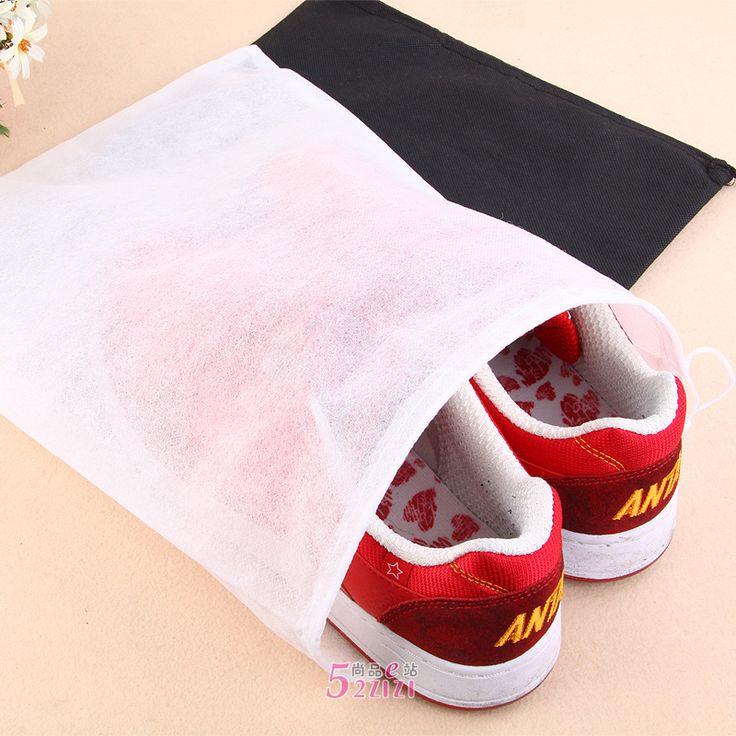 Aliexpress.com: Comprar Envío gratis zapato no tejida bolsa de almacenamiento de zapatos portable del recorrido del bolso cubren totalizador del lazo de bolso de chanel confiables proveedores de S.T.  Home Textile Store.