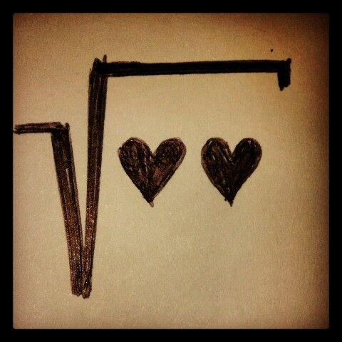La formula matematica dell'amore è radice di noi due.