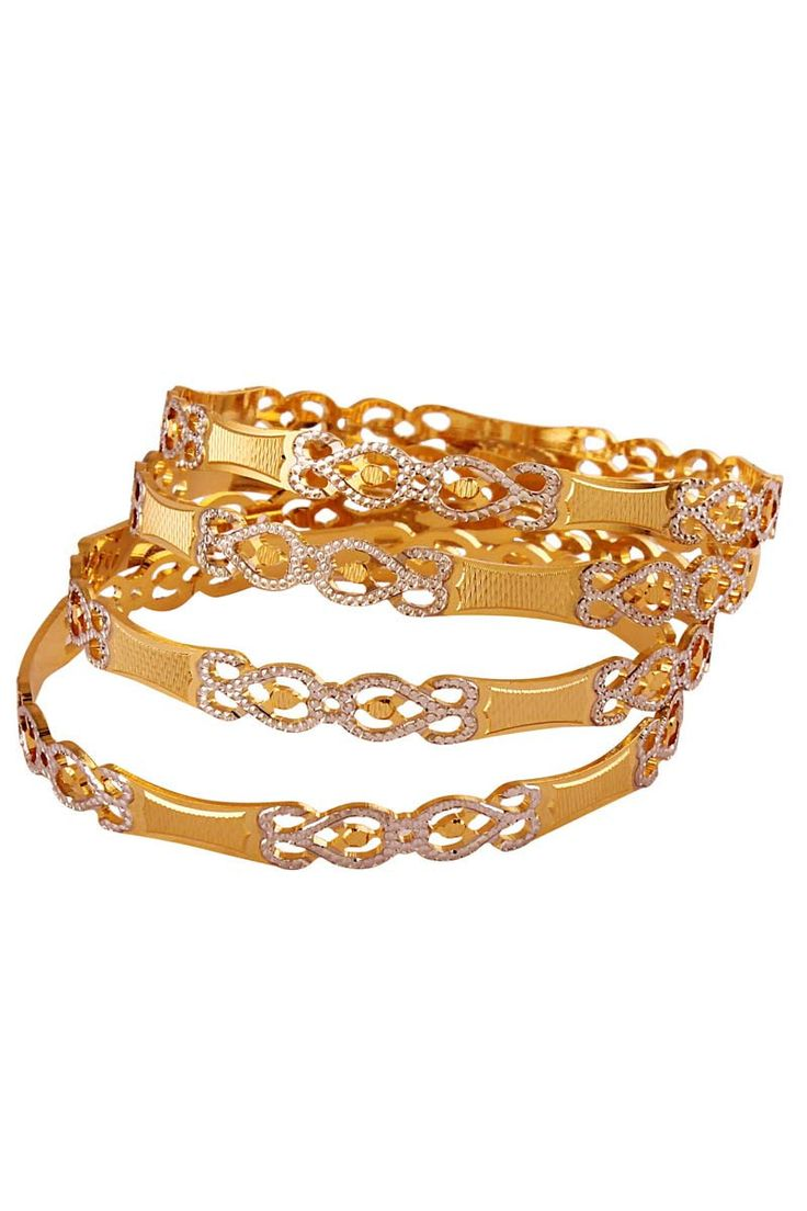 Gold Plated Designer Bangle