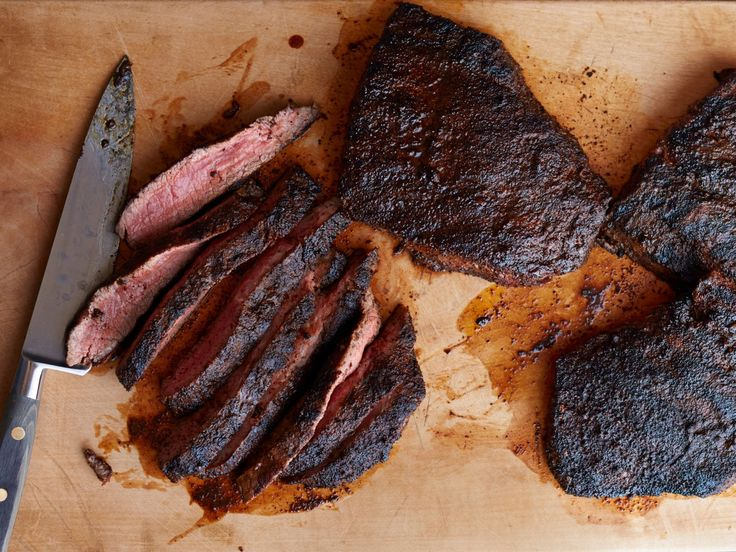 Chili and Coffee-Rubbed Steaks recipe from Food Network Magazine via Food Network
