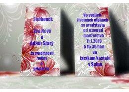 Svadobné oznámenie - SO248