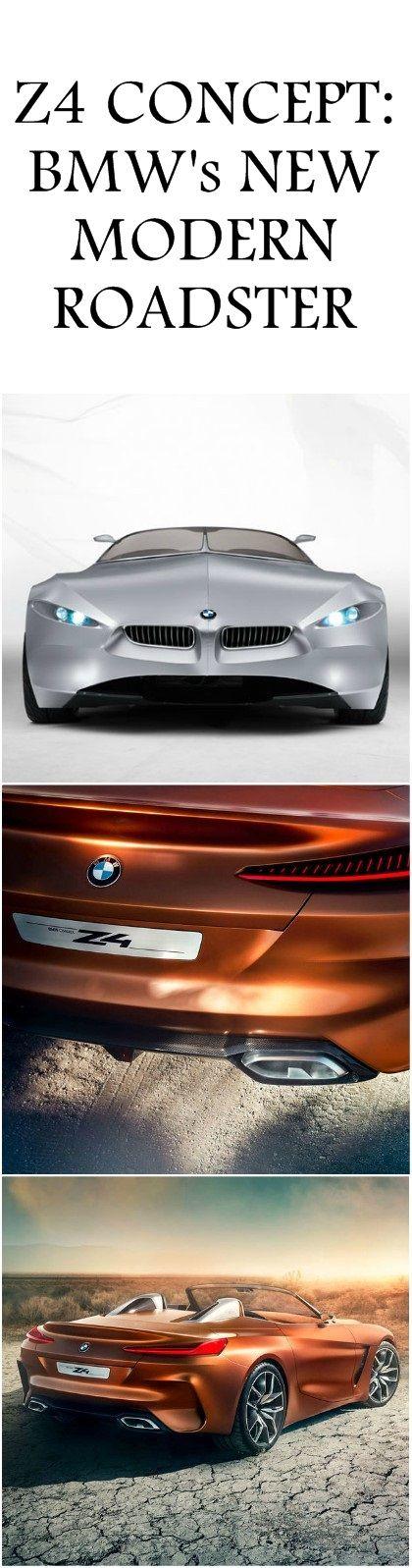 #Z4 #CONCEPT: #BMW's NEW MODERN ROADSTER