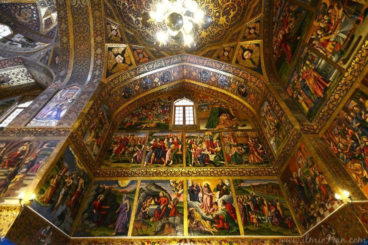 Cattedrale di Vank, esempio di architettura cristiana in Iran