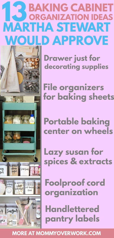 13 Clever Storage Ideas To Organize Baking Supplies Baking