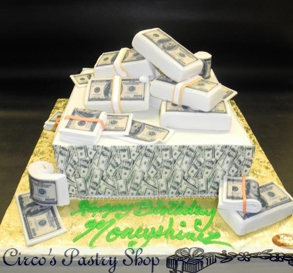 Money Cake  Cakes  Pinterest