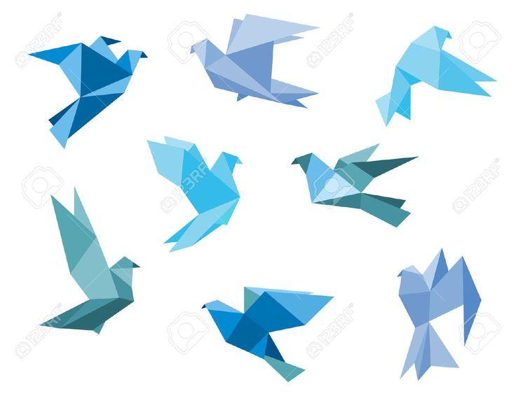 polygon birds - Google Search