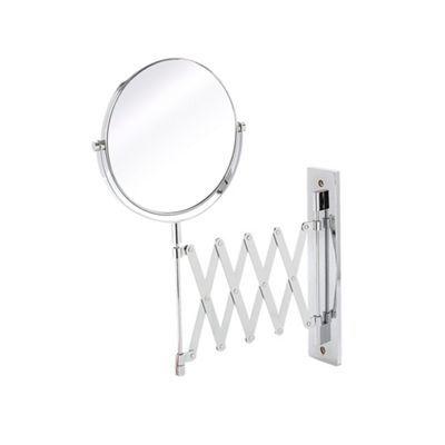 J by Jasper Conran Silver extendable mirror | Debenhams