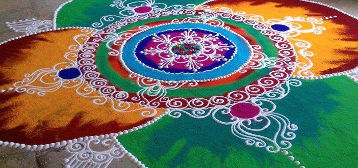 Minunata și ciudata artă antică Rangoli