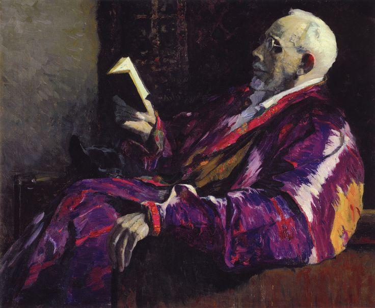 Нестеров М.. Портрет академика, биолога А.Н.Северцова. 1934