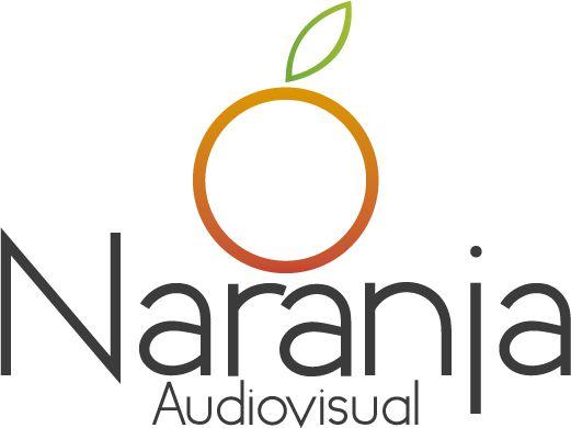 Creación de logo - Cliente: Naranja Audiovisual