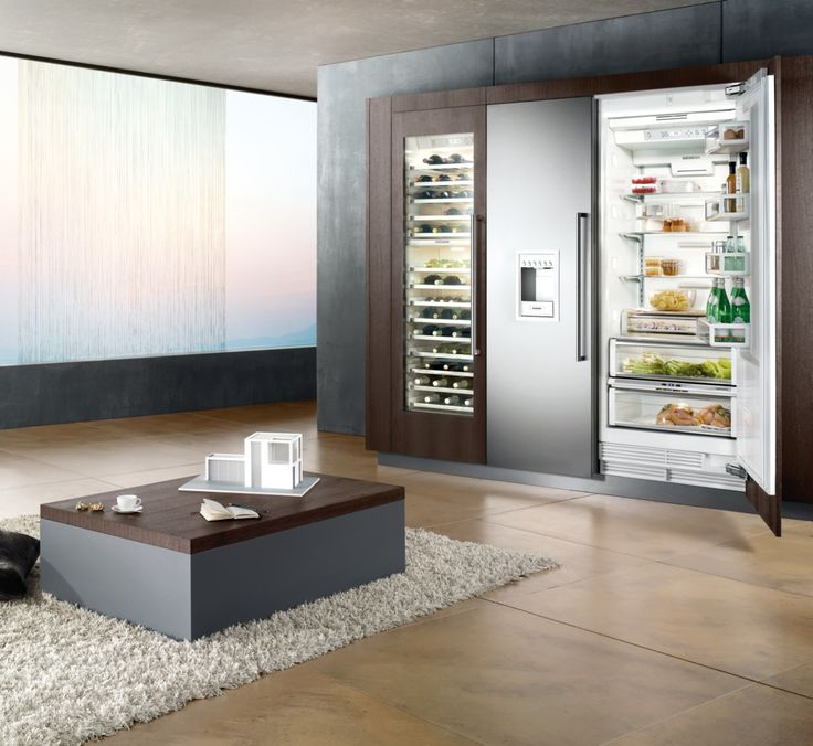 Awesome Free standing appliances that can be integrated with Leicht furniture