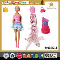 11.5 inches barbie doll dress up games for girls