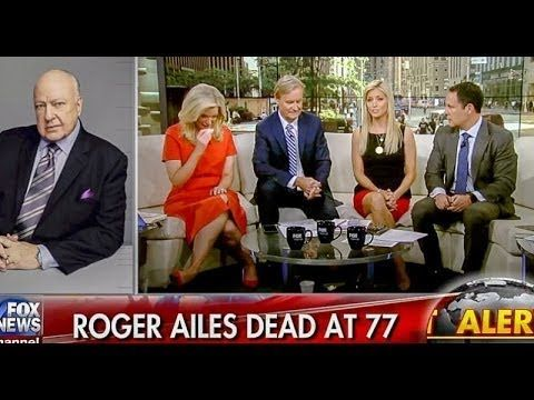 Fox Hosts Cry And Say Roger Ailes 'Saved This Country' - YouTube