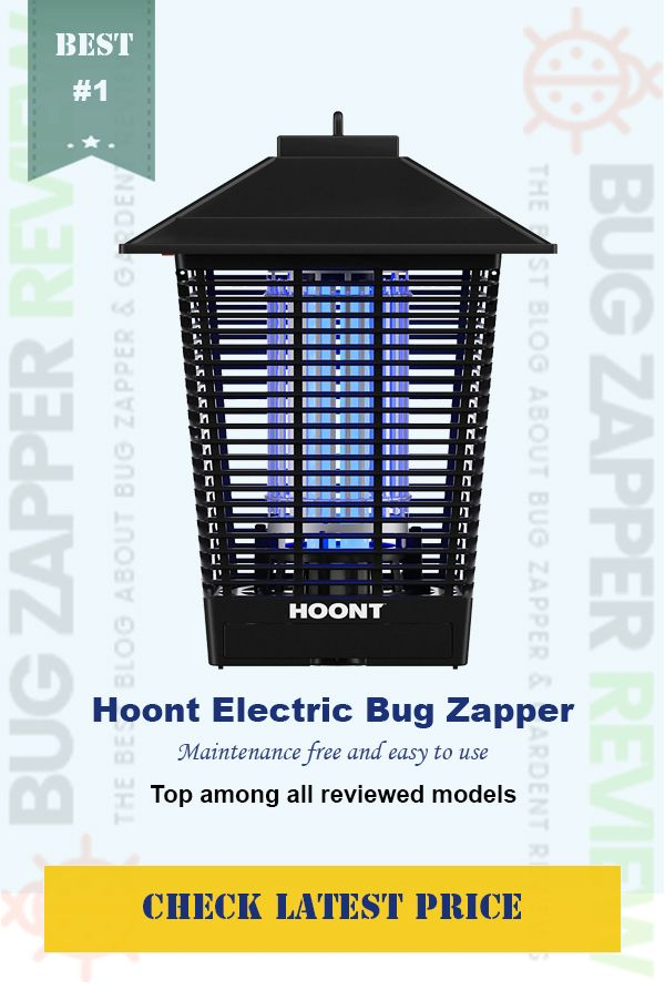 Hoont Powerful Electric Indoor Outdoor Bug Zapper and Fly Zapper