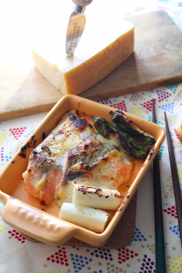 鮭のパルミジャーノ西京焼きグリル。 by がまざわ たかこ | レシピ ...