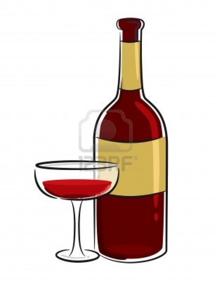wine bottle/glass | clip art- food 1 | Pinterest | Photos ...