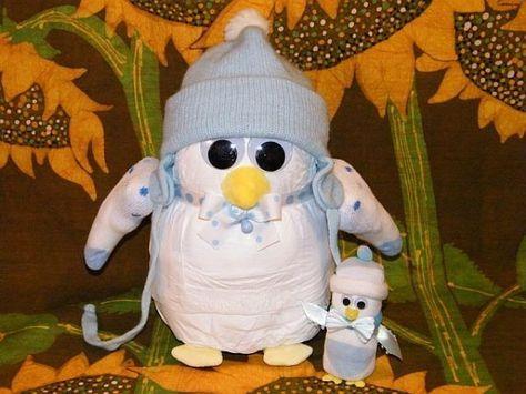 Diaper penguin