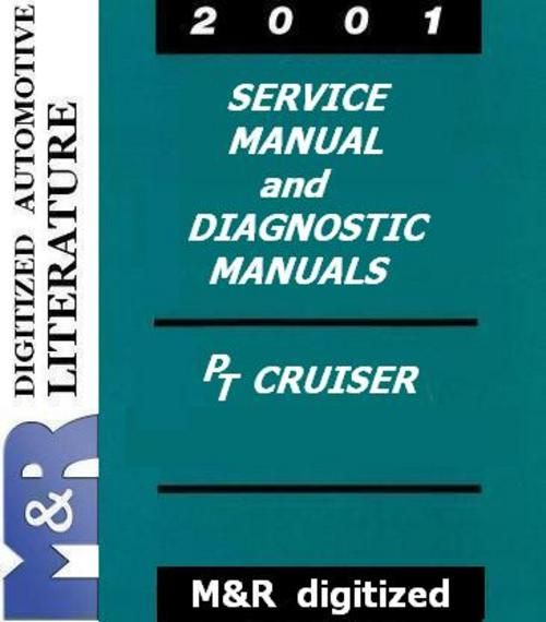 2001 PT Cruiser Chrysler Original Service Manual and Supplement  and Diagnostic Manuals (Chassis , Body DOWNLOAD