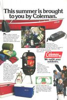 Coleman Canoe 1983 Ad Picture