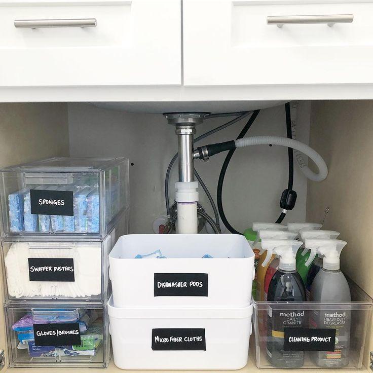 Lisa Boncich(therearrangedhome) Dishwasher pods storage