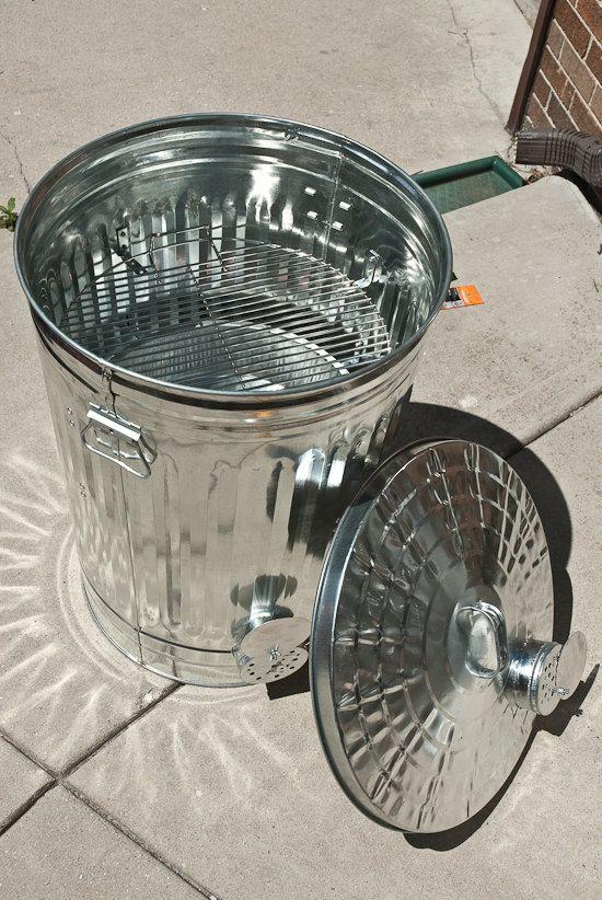trash can smoker. I need to make this