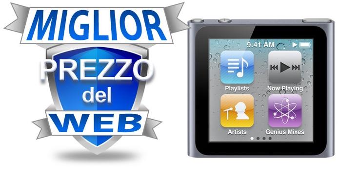 INCREDIBLE PRICE:    Apple iPod nano 16Gb (6G) Grafite    139€
