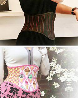 free corset belt pattern