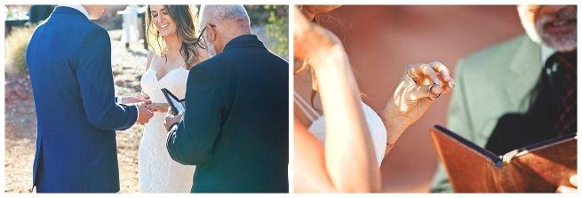 valley of fire, wedding, desert wedding, elegant elopement, las vegas wedding, cactus and lace weddings, wedding details, destination wedding, ring exchange, wedding ceremony, bride, groom, wedding dress.