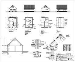 Afbeeldingsresultaat voor bouwtekening kapschuur maken