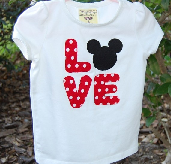 LOVE Mickey shirt