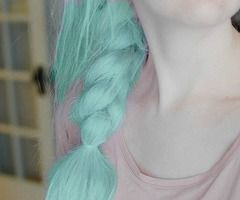 sea foam hair