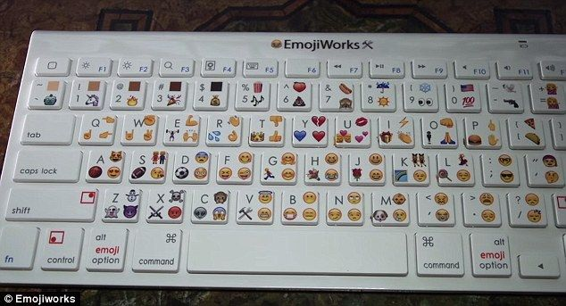 Emojiworks reveal keyboard that can type only in EMOJI for Mac, PC ...