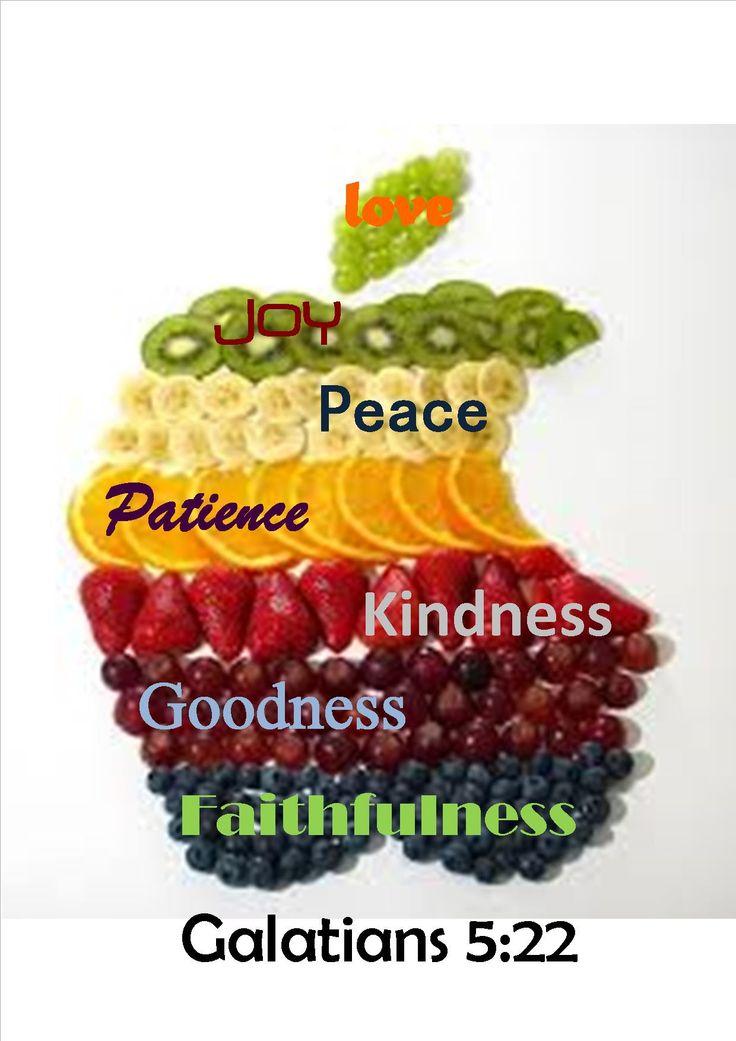 wiggles fruit salad fruit of the spirit kindness