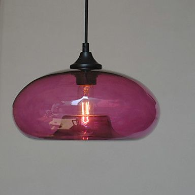 Modern Characteristic Pendant, 1 Light With Transparent Shade – GBP £ 41.21