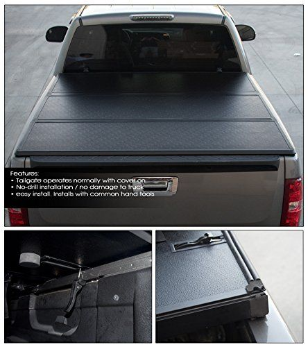 09-14 Ford F150 Tri-Fold Hard Tonneau Cover for unbeatable protection