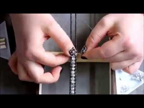 Jak zrobić w 10 minut bransoletkę na krośnie. How to make in 10 minute bracelet on loom