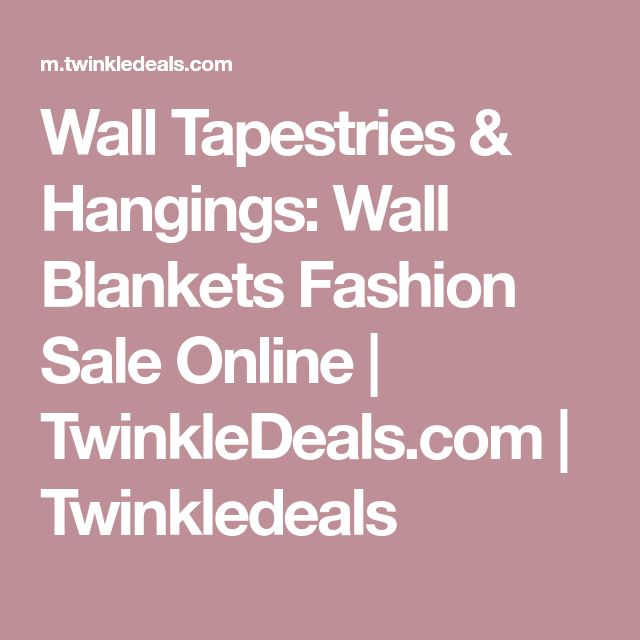 Wall Tapestries & Hangings: Wall Blankets Fashion Sale Online | TwinkleDeals.com | Twinkledeals