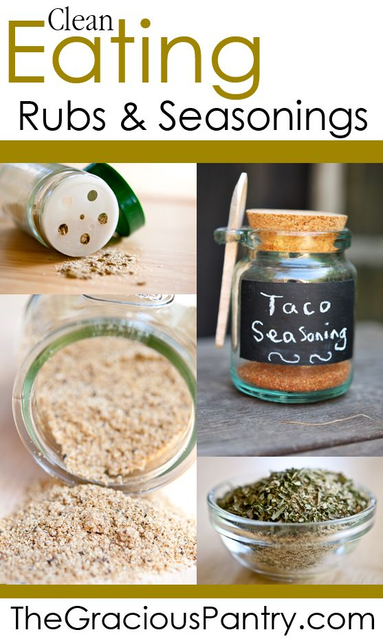 Clean Eating Rubs & Seasoning Blends. - The taco seasoning was amazing, perfect mix of spices.
